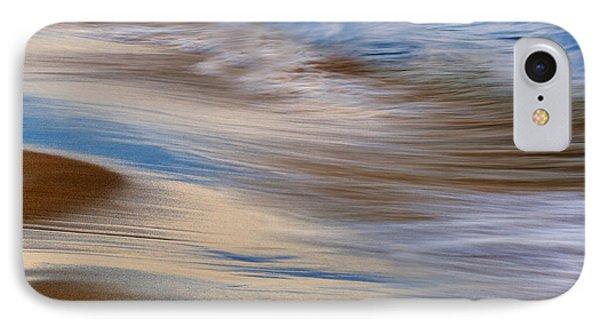 Lake Michigan Surf Phone Case by Dean Pennala