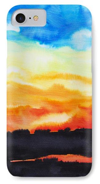 Lake Of Fire Phone Case by Tara Thelen