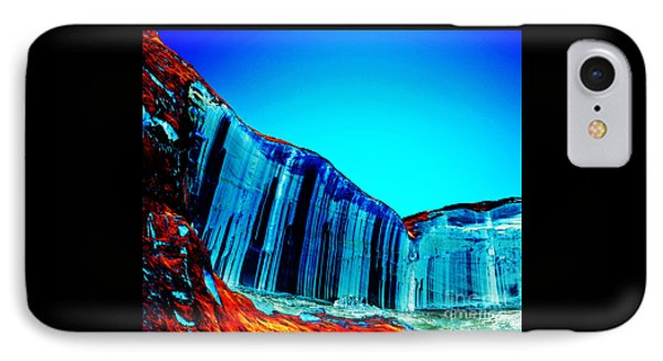 Lake Powell Blue Ice IPhone Case by Rebecca Margraf