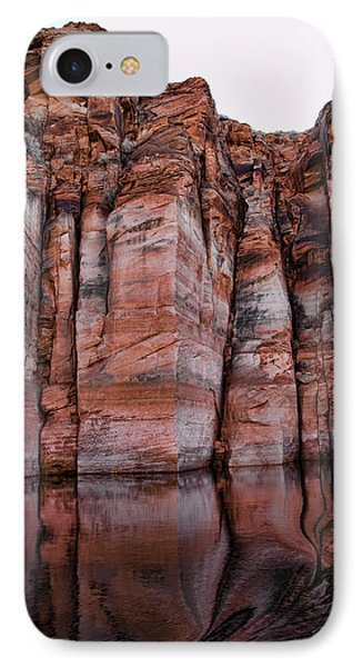 Lake Powell Water Canyon Phone Case by Jon Berghoff