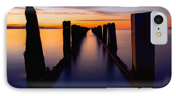 Lake Reflection IPhone Case by Chad Dutson