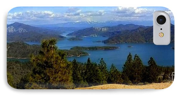 Lake Shasta IPhone Case