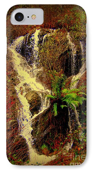 Lake Shasta Waterfall 3 Phone Case by Garnett  Jaeger