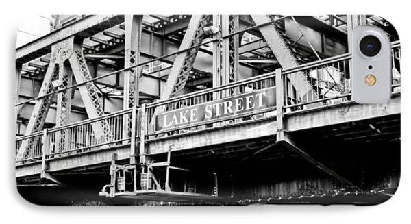 Lake Street Bridge IPhone Case