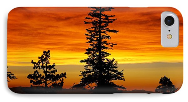 Lake Tahoe Sunset Phone Case by Bruce Friedman