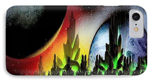 IPhone Case featuring the mixed media Lake Venus by Greg Moores