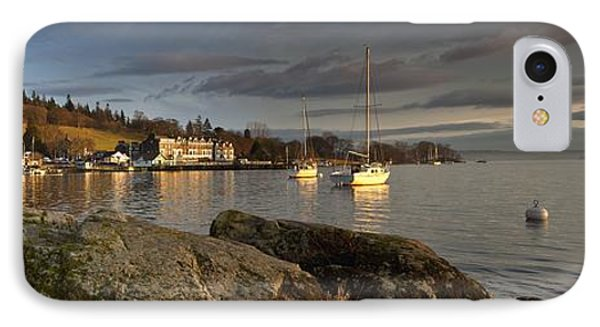 IPhone Case featuring the photograph Lake Windermere Ambleside, Cumbria by John Short