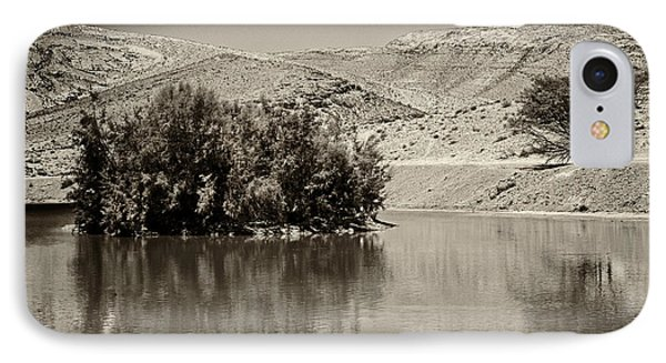 IPhone Case featuring the photograph Lake Yeruham by Arik Baltinester