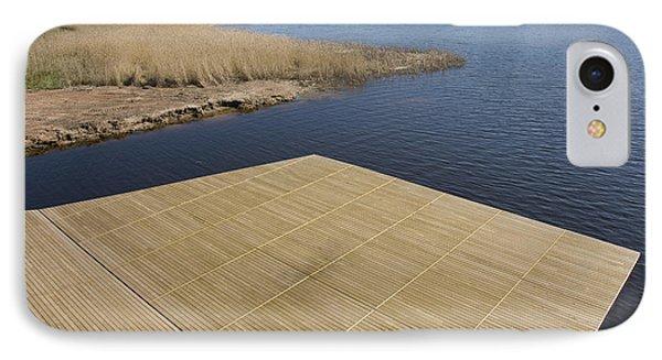 Lakeside Dock Phone Case by Jaak Nilson
