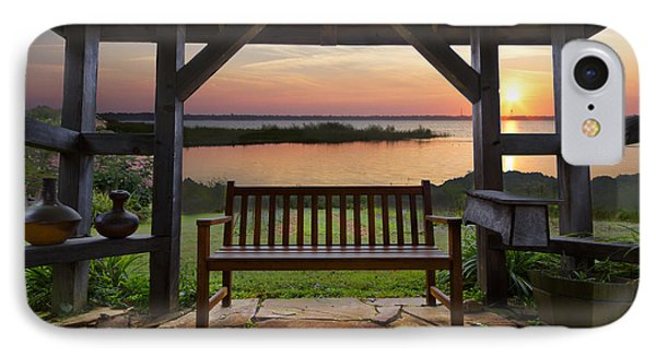 Lakeside Serenity Phone Case by Debra and Dave Vanderlaan