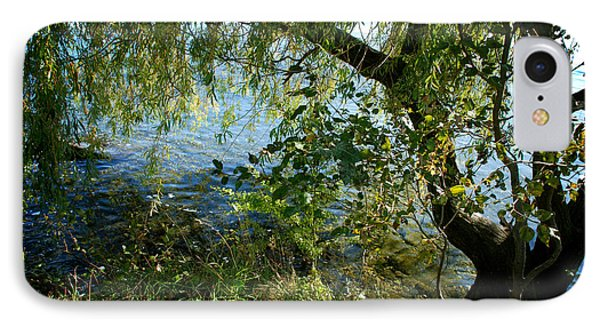 Lakeside Tree IPhone Case by Kathleen Grace