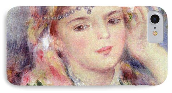 L'algerienne IPhone Case by Pierre Auguste Renoir