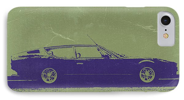 Lamborghini Espada Phone Case by Naxart Studio
