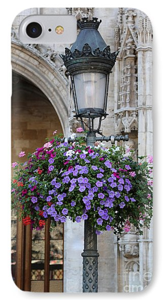Lamp And Lace At The Grand Place Phone Case by Carol Groenen