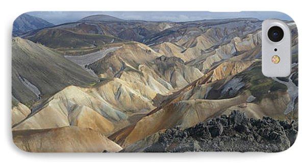 Landmannalaugar Panorama 1 Phone Case by Rudi Prott