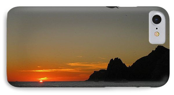 Land's End Sunset Phone Case by Judee Stalmack