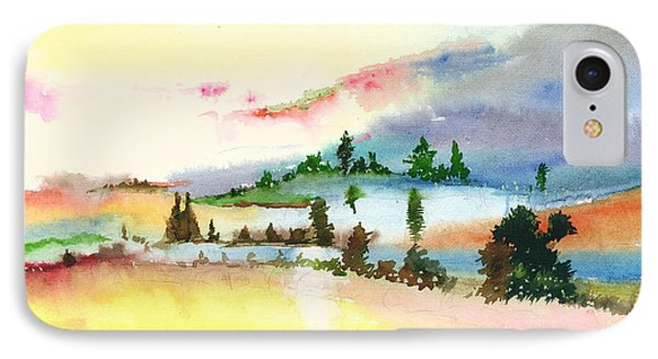 Landscape 1 Phone Case by Anil Nene