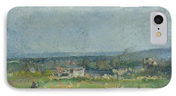 Landscape In Pontoise Phone Case by Camille Pissarro