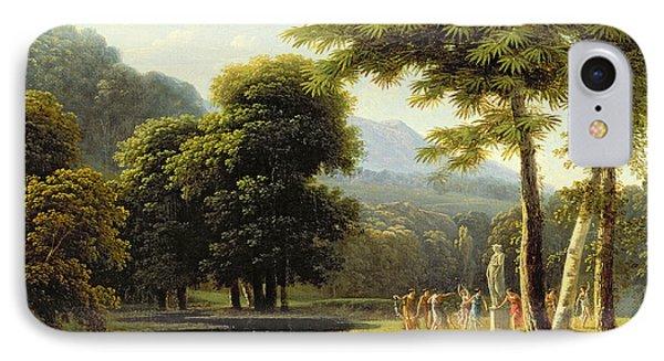 Landscape Phone Case by Jean Victor Bertin