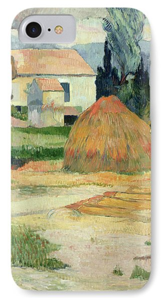 Landscape Near Arles Phone Case by Paul Gauguin