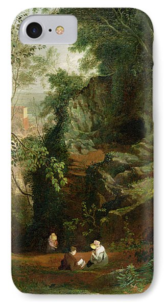 Landscape Near Clifton IPhone Case by Francis Danby
