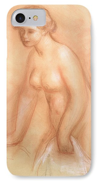 Large Bather Phone Case by Pierre Auguste Renoir