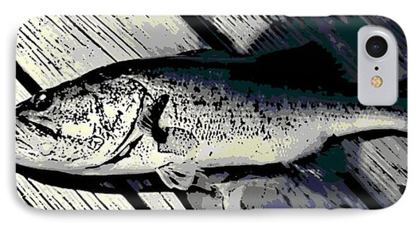 Largemouth Bass Phone Case by George Pedro