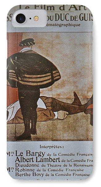 L'assassinat Du Duc De Guise IPhone Case by Georgia Fowler