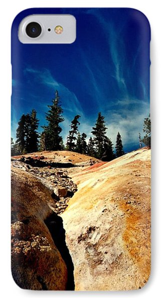 IPhone Case featuring the photograph Lassen Volcanic National Park by Peter Mooyman