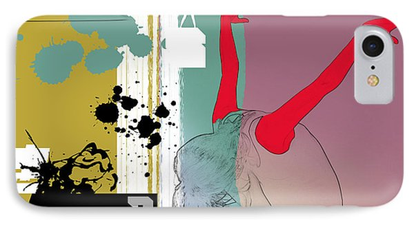 Last Dance IPhone Case by Naxart Studio