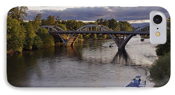 Last Light On Caveman Bridge IPhone Case