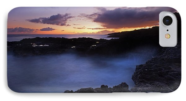 Last Light Over The South Shore Phone Case by Mike  Dawson