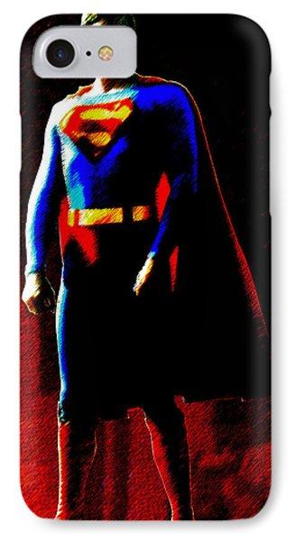 Last Son Of Krypton IPhone Case by Saad Hasnain