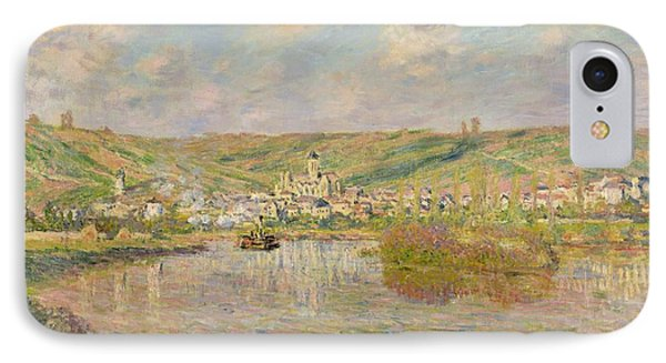 Late Afternoon - Vetheuil IPhone Case by Claude Monet
