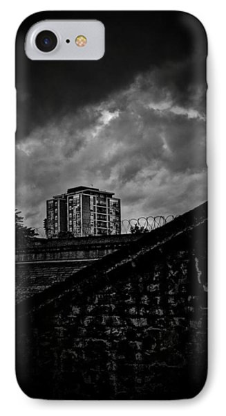 Late Night Brixton Skyline Phone Case by Lenny Carter