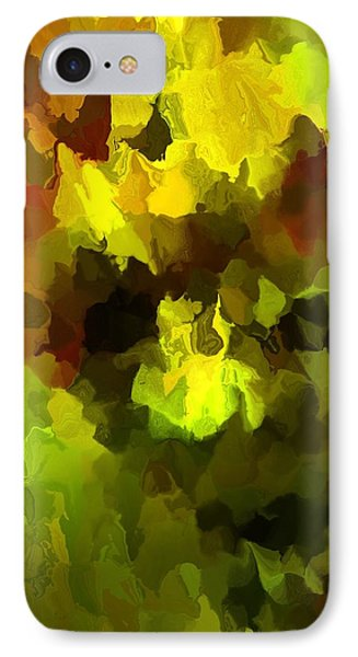 Late Summer Nature Abstract Phone Case by David Lane