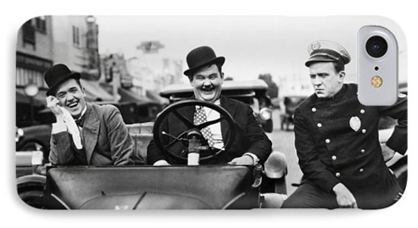 Laurel And Hardy, 1928 Phone Case by Granger