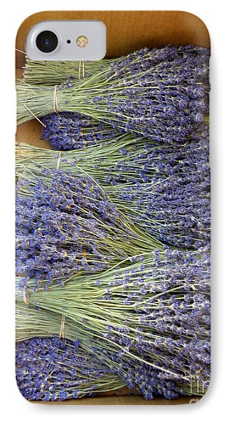 Lavender Bundles Phone Case by Lainie Wrightson
