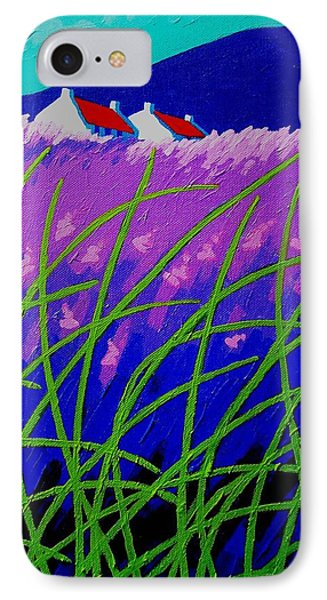 Lavender Hill Phone Case by John  Nolan