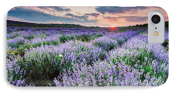 Lavender Sea Phone Case by Evgeni Dinev