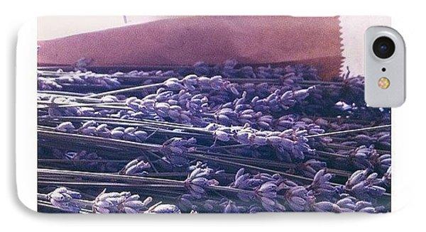 Lavender Still-life IPhone Case by Ann K