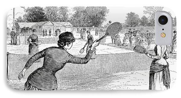 Lawn Tennis, 1883 Phone Case by Granger