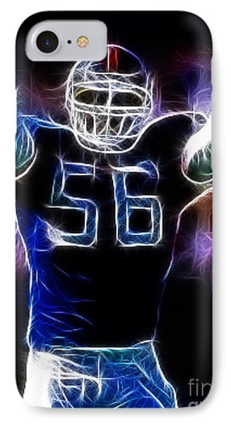 Lawrence Taylor  Phone Case by Paul Ward
