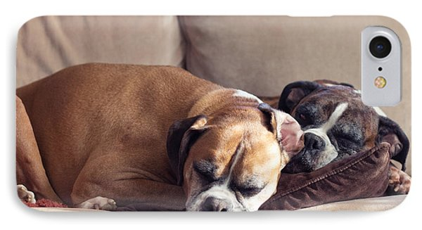 Lazy Boxers IPhone Case