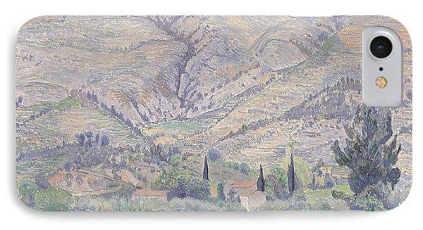 Le Ragas Near Toulon Phone Case by Camille Pissarro