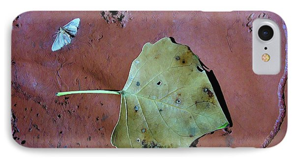 IPhone Case featuring the photograph Leaf Libretto by Britt Runyon