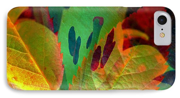 Leaf Reflections Phone Case by Shirley Sirois