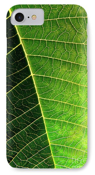 Leaf Texture Phone Case by Carlos Caetano