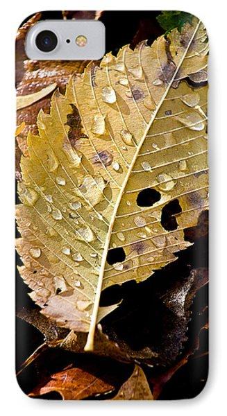 Leafy Tears Phone Case by Burney Lieberman