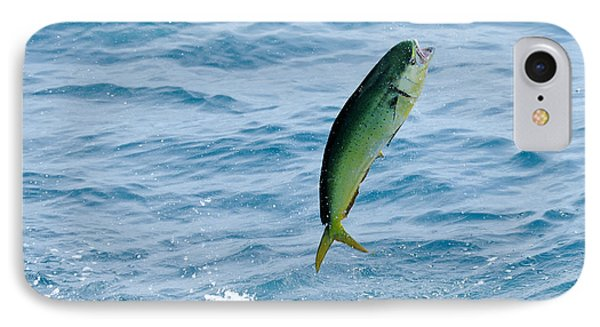 IPhone Case featuring the photograph Leaping Mahi by Bradford Martin